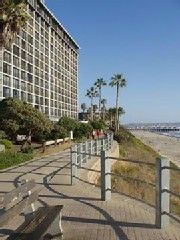 Pacific Beach condo photo - Building-our unit is 6 up and 6 in from far right