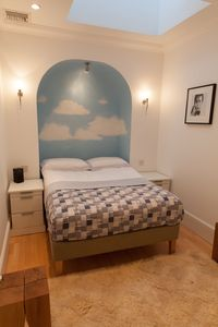 Second bedroom with standard double bed (sleeps 2)