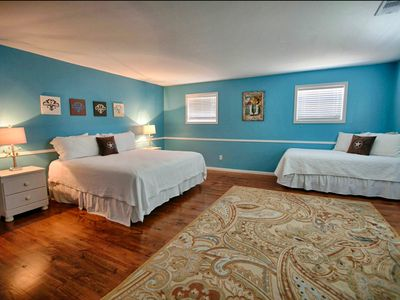 Upstairs Bedroom with attached Full Bathroom