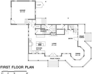Falmouth house photo - First floor room layout