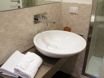 Colosseum area apartment rental - Bathroom