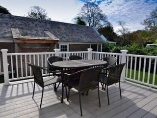 Edgartown house photo - Outdoor Dining & Entertaining Comfortably Seats 6