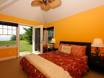 Guest Bedroom with Walkout to Pool Area