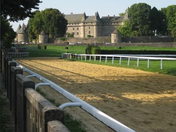 Racetrack at Chateau Pompadour