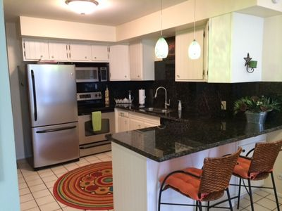 Kitchen, with Granite Counter Tops, lots of extra's in kitchen,