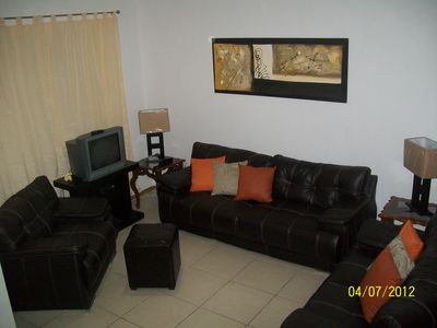 Guadalajara townhome rental - Living room newly furnished