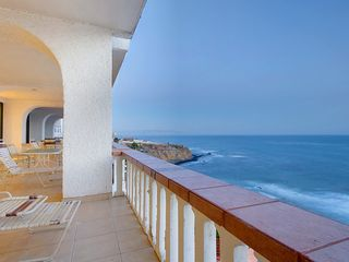 Rosarito Beach condo photo - Patio View