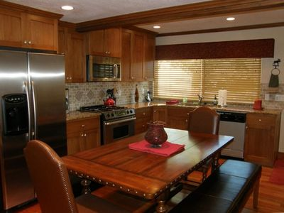 Kitchen - stainless appliances, granite - remodeled 2010