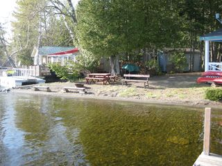 East Grand Lake cabin photo - water clarity