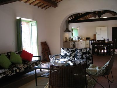 Civitella Casanova villa rental - sitting area