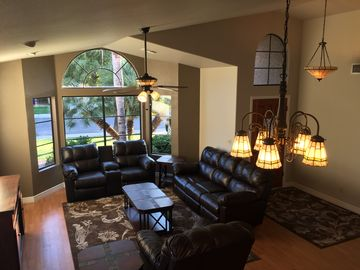Gilbert house rental - Living Room View