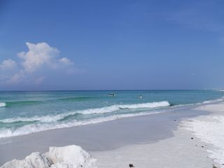 Destin house photo - Your sugar white sand and emerald waters await!