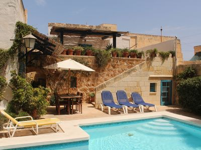 image for Charming, 300 year old traditional Farmhouse with private pool