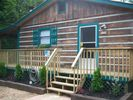 Front of Cabin - Cosby cabin vacation rental photo