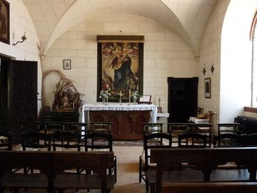 The family chapel, where the family pray together