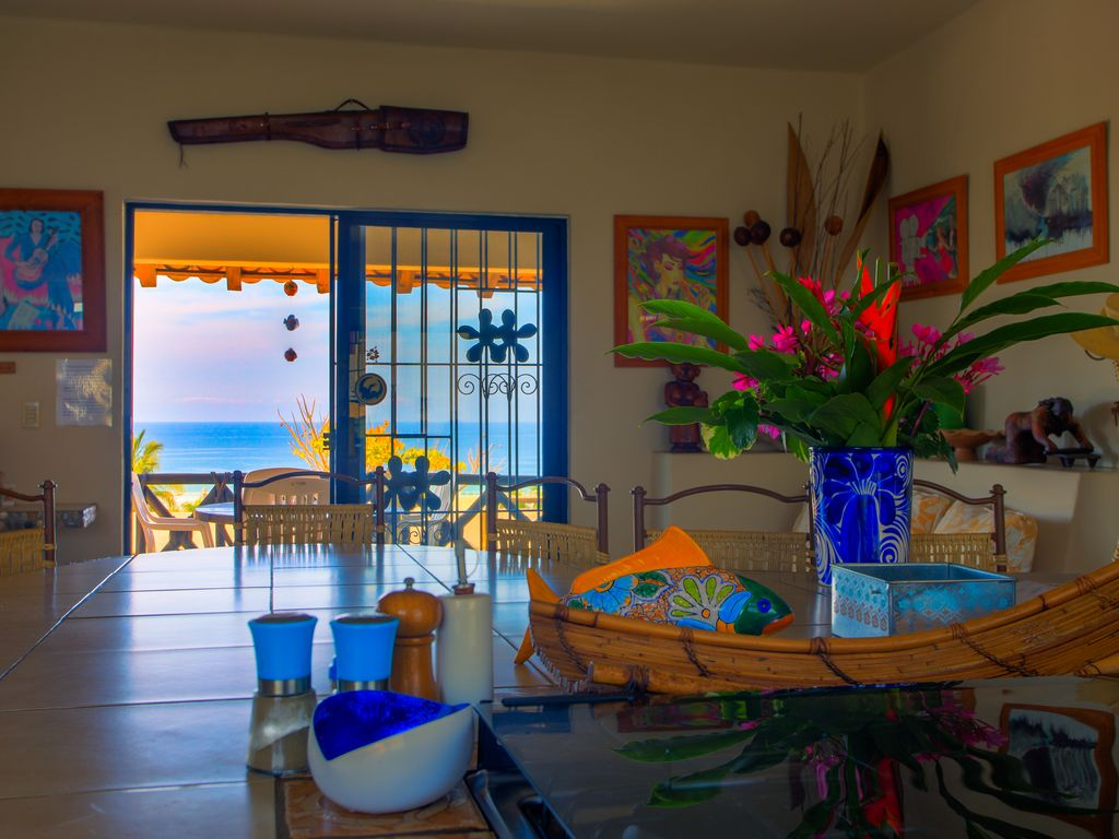 Mexican Living Room Furniture Casa Jacarandas Mexican Pipeline Ocean Views From Every Room
