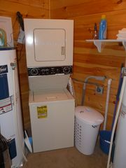 Gatlinburg cabin photo - Washer & Dryer / Iron and Ironing Board for your use