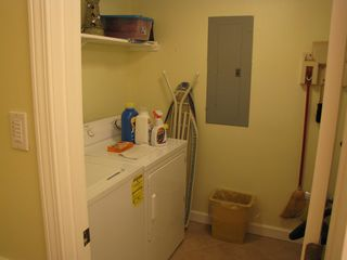Sunnyside condo photo - Laundry room with washer and dryer.