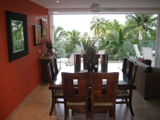 Ixtapa condo photo - Dining area with ocean views