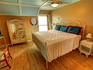 Tybee Island condo photo - Lots of comments about the comfortable king bed and luxury linens - all oceanfro
