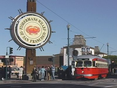 Take a Cable Car to Fisherman's Wharf!