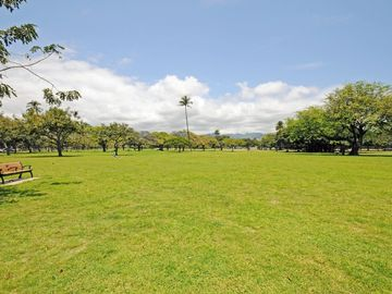 Kapiolani Park just steps away