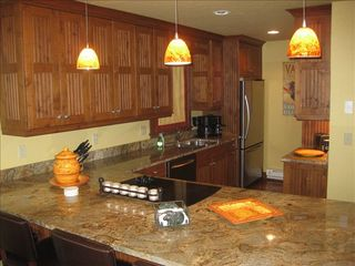 Vail house photo - KITCHEN- Granite Countertops and the Breakfast Bar, All Stainless Appliances