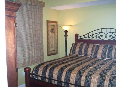 1st Bedroom with Exceptional King Pillow Top Mattress