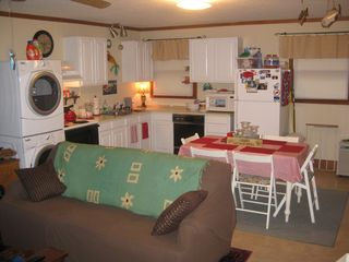 Oak Island house photo - The kitchen/dining area