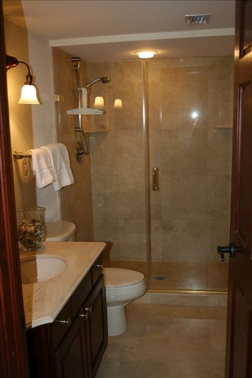 Master bath (guest bath has a shower identical to this)