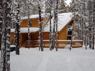 Williams cabin photo - Beautiful in the Snow - it's time to go skiing!