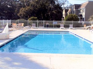 St. Simons Island condo photo - Pool in the back of the complex