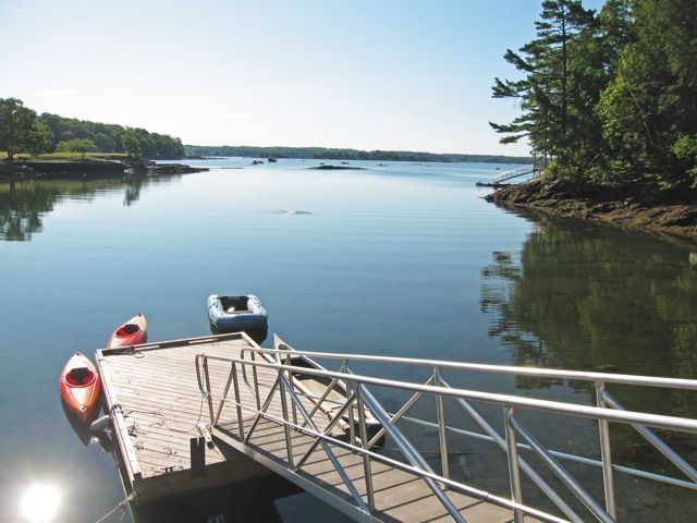 Oceanfront Cottage For 2, Quiet, Kayaking,view The Natural Beauty All Around You
