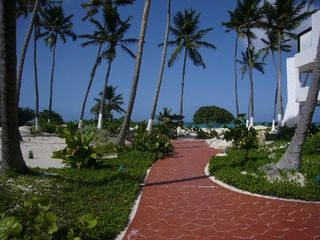 Bavaro villa photo - Walkway to Beach