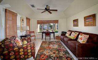 Vacation Homes in Marco Island house photo - Private Study with Plush Sleeper Sofa ...