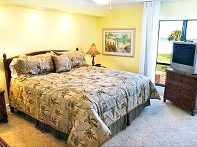 Sanibel Island condo rental - Master with Sliding Door to Balcony B306