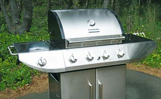 Yachats house photo - Stainless Gas Grill.