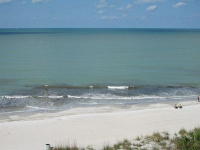 Madeira Beach condo rental - View of the beach from the balcony