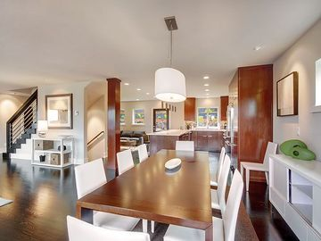 Dining Area, Kitchen Area, Living Area and Family Room Area All Flow Together