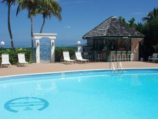 St. Croix condo photo - Lush tropical landscaping and ocean view