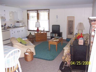 Southport house rental - A suite of rooms with open plan living room/kitchen/eating area