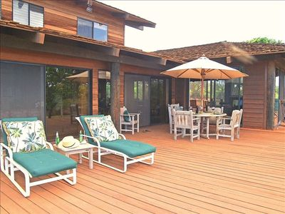 Large Open Sun Deck