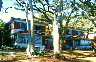 Jekyll Island cottage photo - Front view of home.