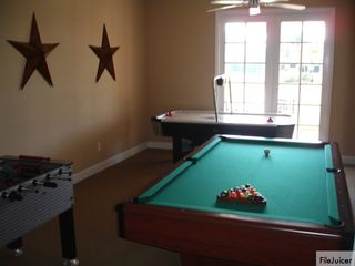 Tuscan Hills villa photo - Pool table / foosball / Air Hockey