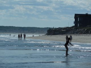 Biddeford house photo - 2-mile pristine sandy beach. Great for castles, walks, skim boarding