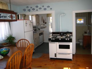 Nantucket Town cottage photo - Kitchen Area