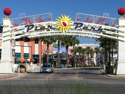 Pier Park is just down the road for your dining, shopping, and e