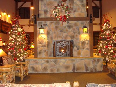 Timber Ridge Lodge lobby