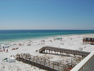 Mainsail Resort condo photo - Looking West to Gulf from Front Balcony
