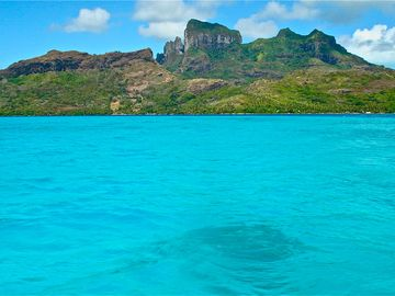 "James Michener Called Bora Bora ""The most beautiful island in the world""."